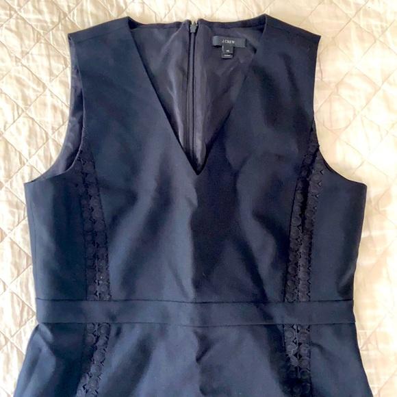 Lined wool J. Crew dress